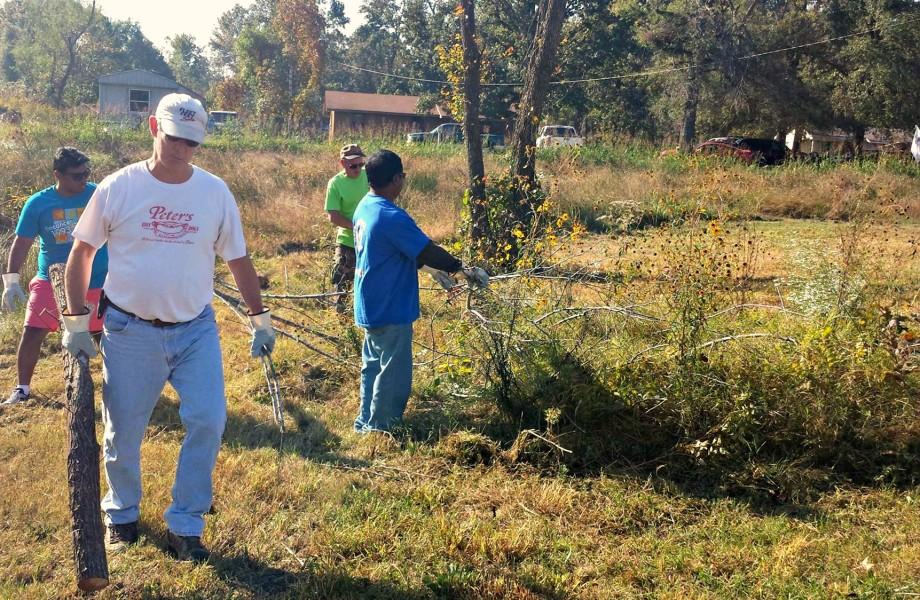 Sreekumar Gopinathan volunteering
