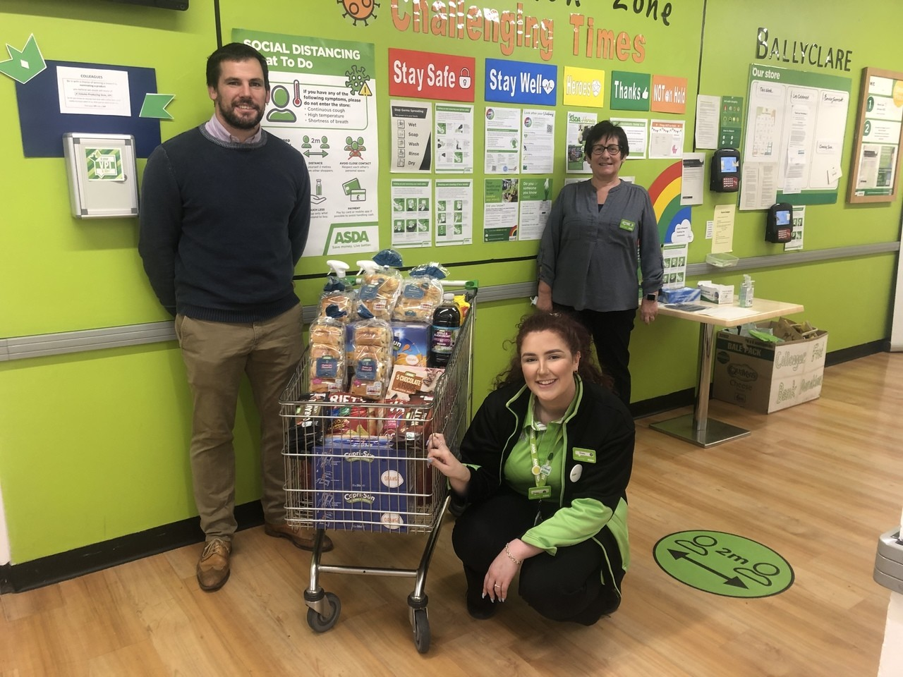 Ballyclare Rugby Club clean up! | Asda Ballyclare