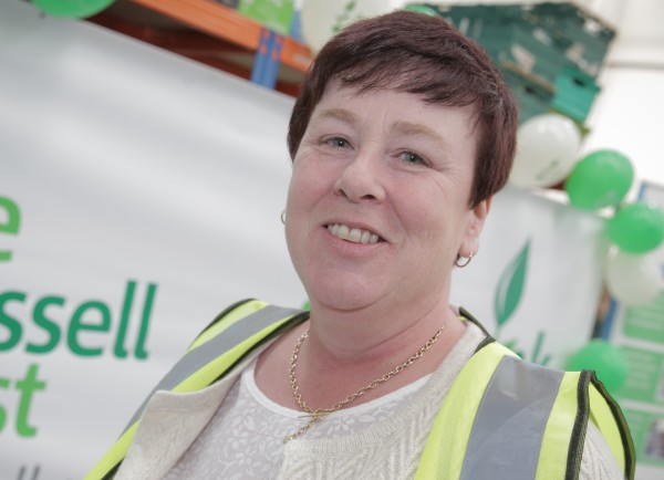 Leeds South and East Trussell Trust foodbank manager Wendy Doyle