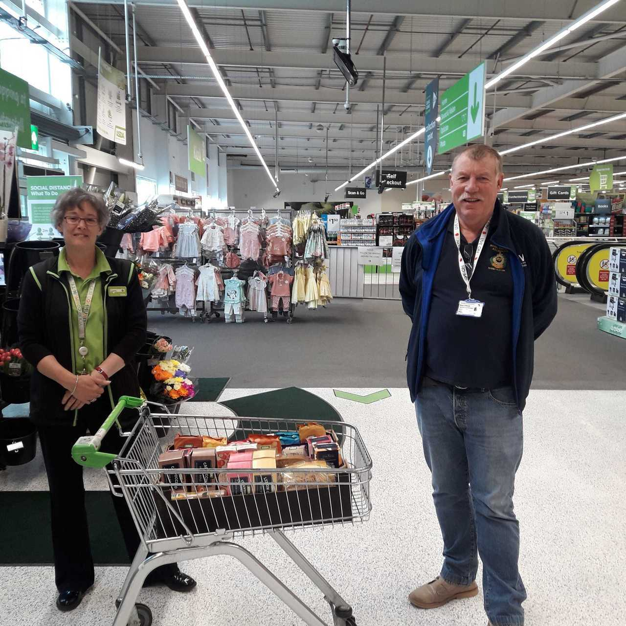 VIC Donation | Asda Rawtenstall