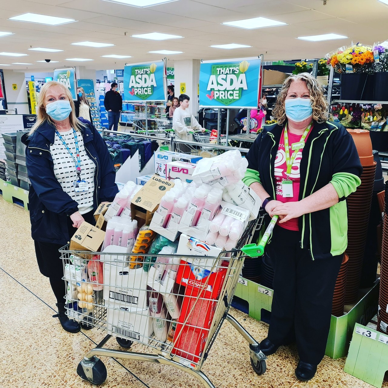 Supporting communities grant  | Asda Lancaster