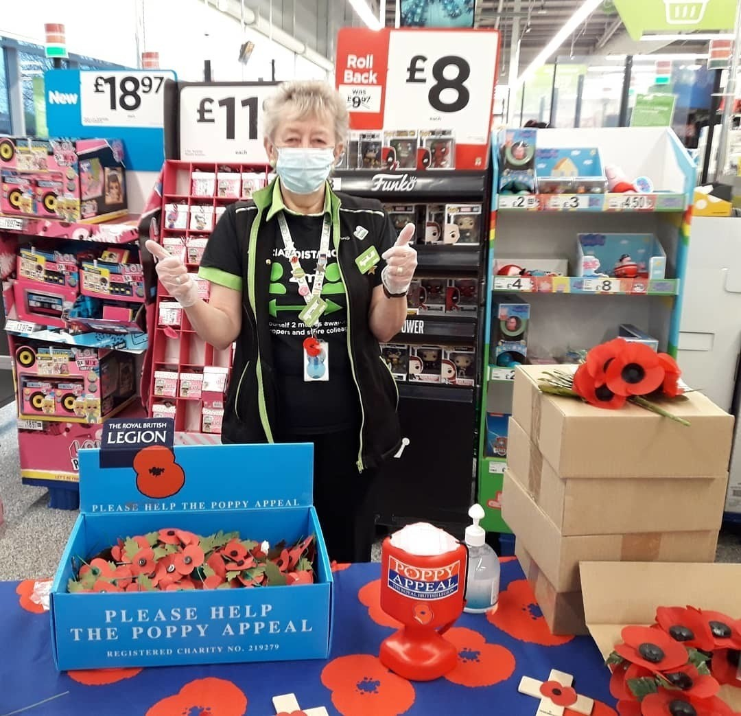 Supporting the Royal British Legion | Asda Reddish