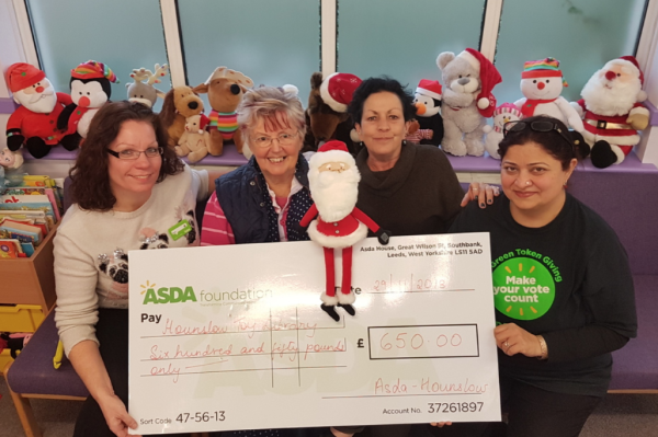 Asda Foundation grant to Hounslow Toy Library