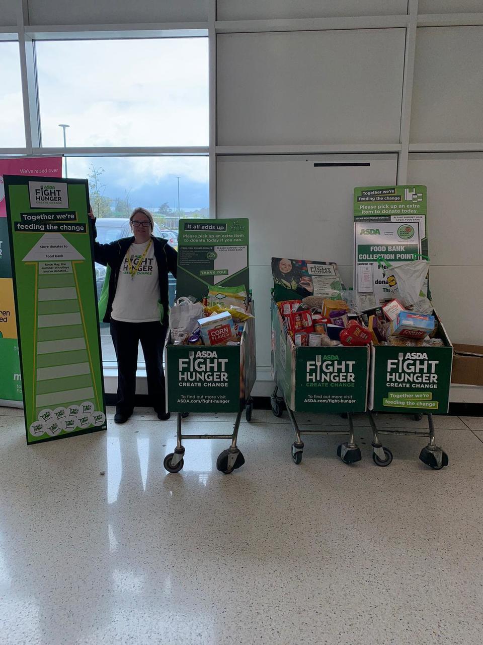 Helping us fight hunger | Asda Milton Keynes