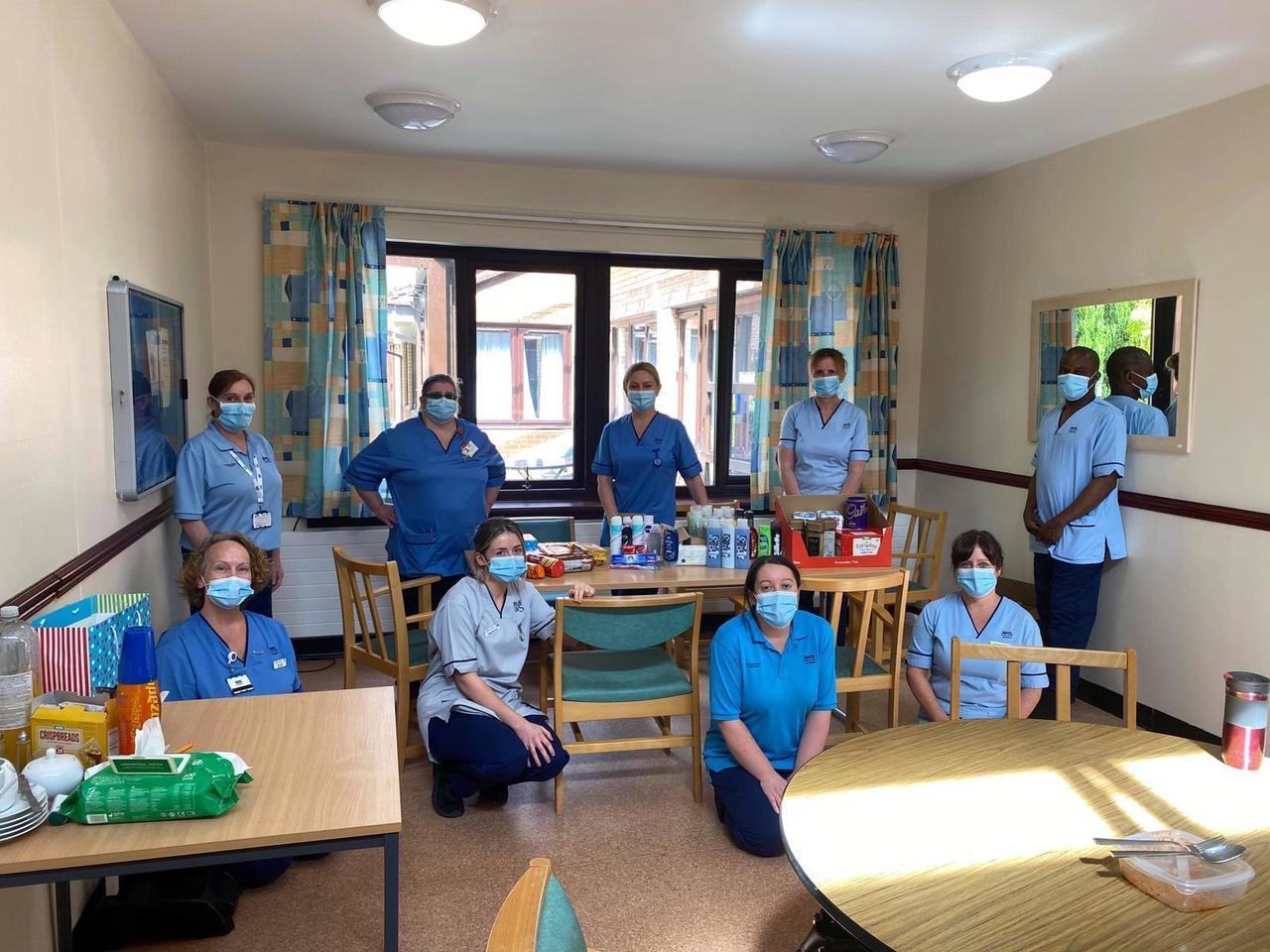 Udston Hospital donation | Asda Hamilton