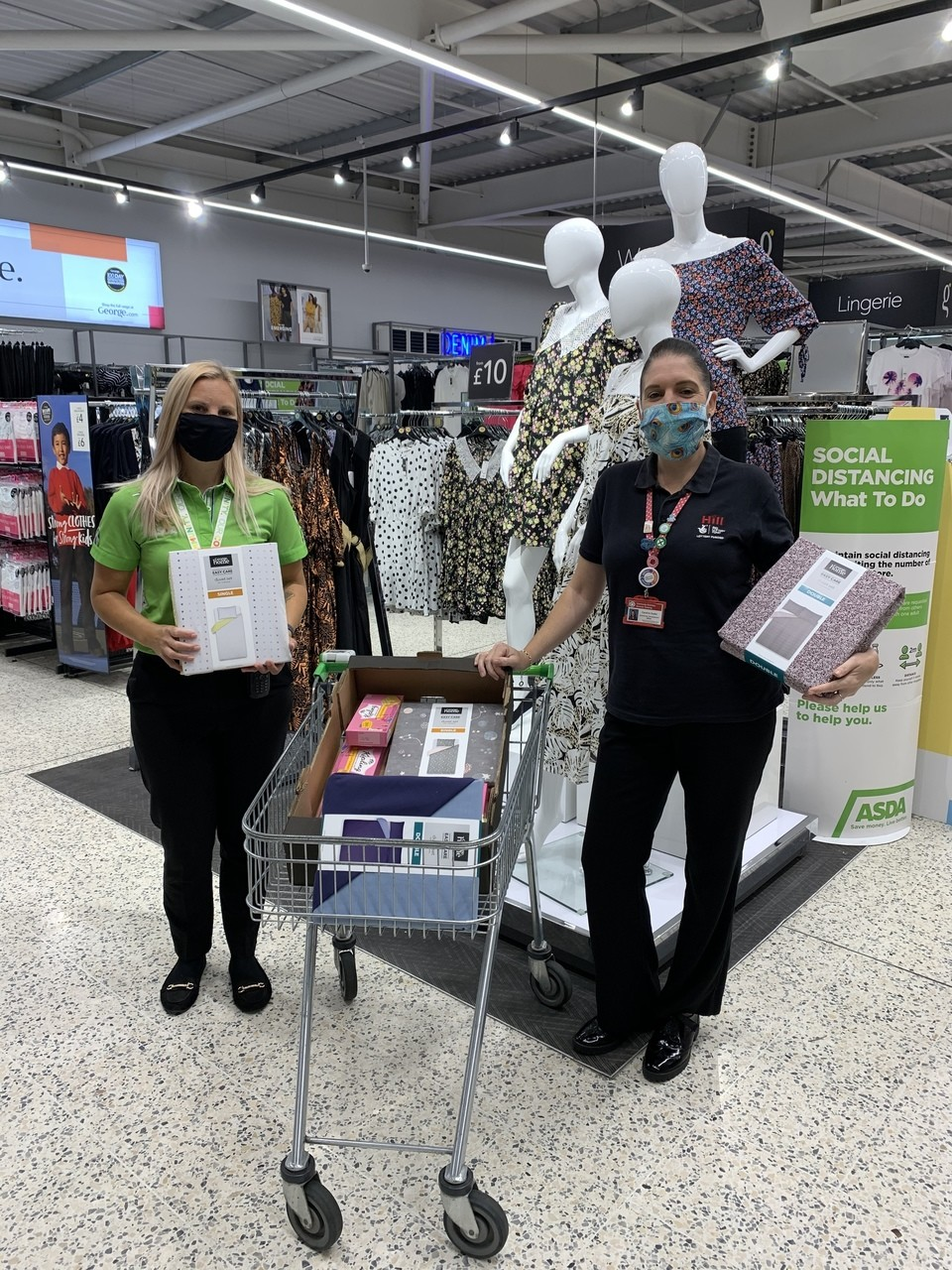 Donation to Community Voluntary Services Tendring | Asda Clacton-on-Sea