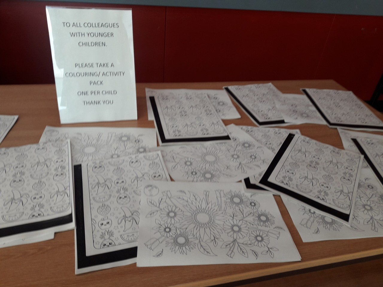 Activity and colouring packs | Asda Rawtenstall