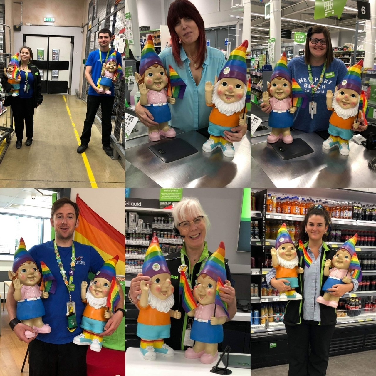 Blue day at Isle of Wight store | Asda Newport Isle of Wight