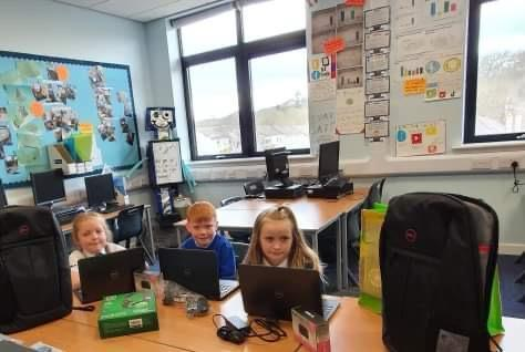 Laptop delivery for Sidlaw View Primary School | Asda Dundee Kirkton