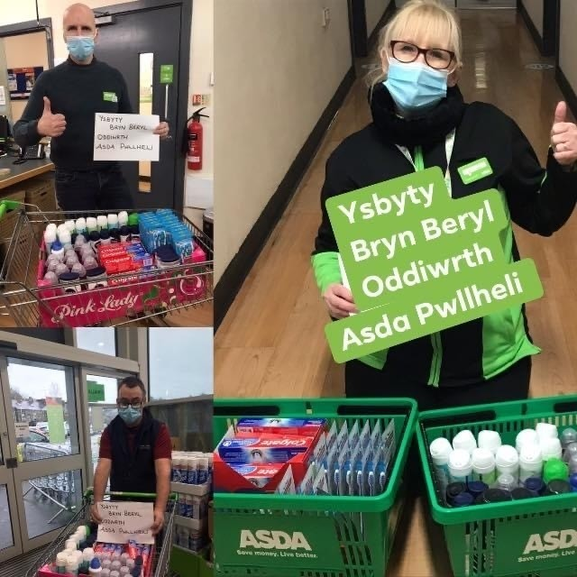 Donations to our local hospital | Asda Pwllheli