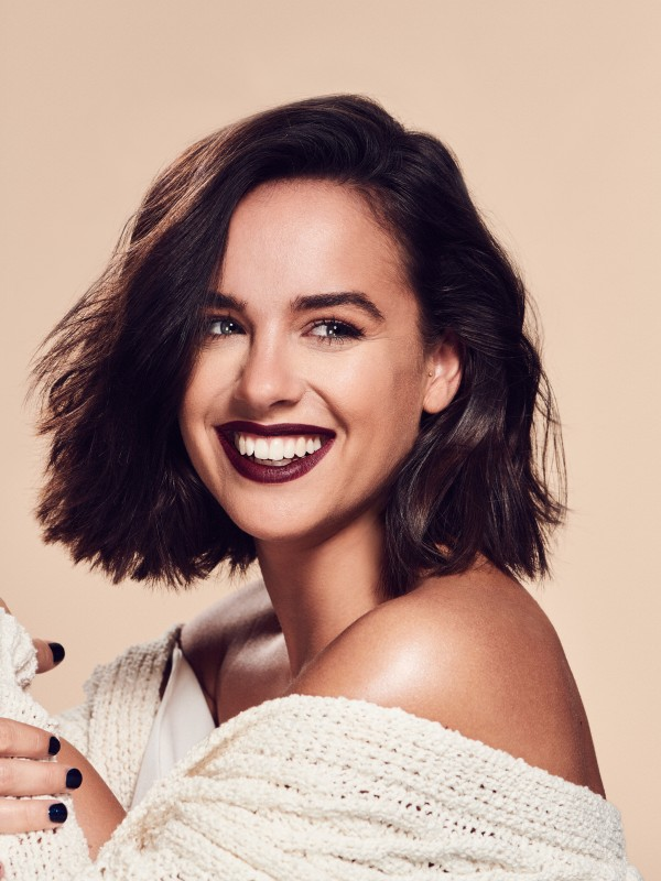 Georgia May Foote make-up