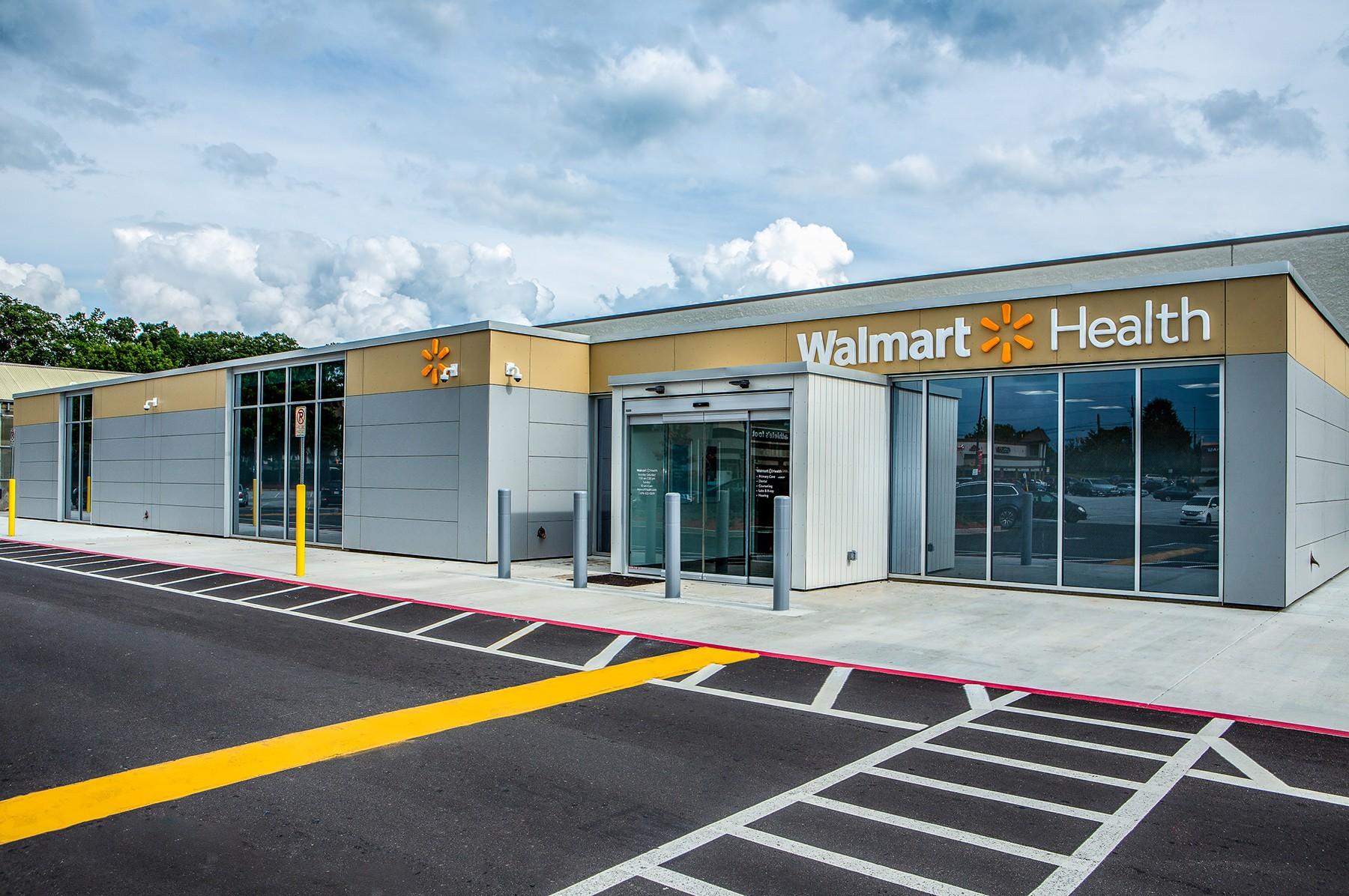 Walmart Health McDonough Exterior
