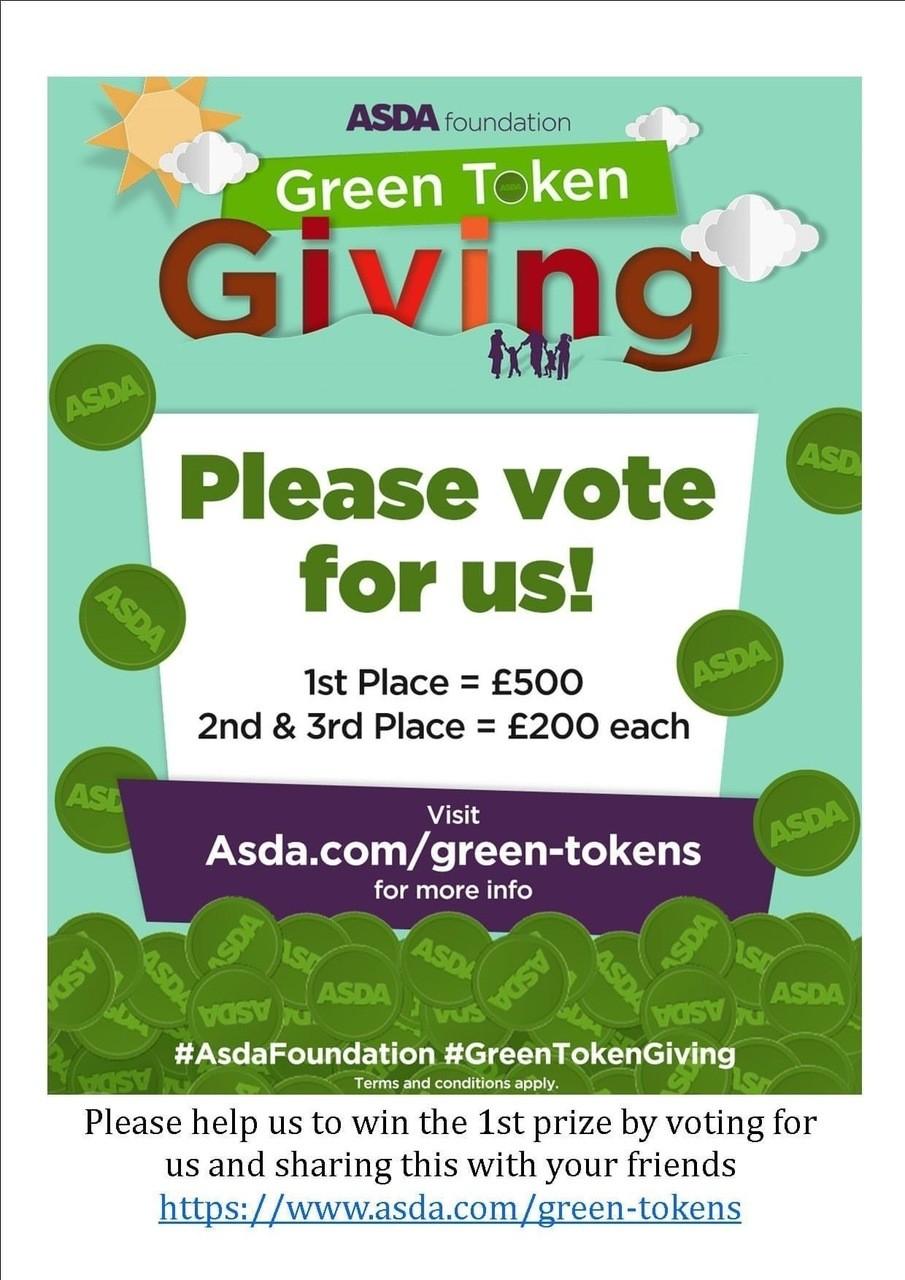 Green tokensgo digital | Asda Derby