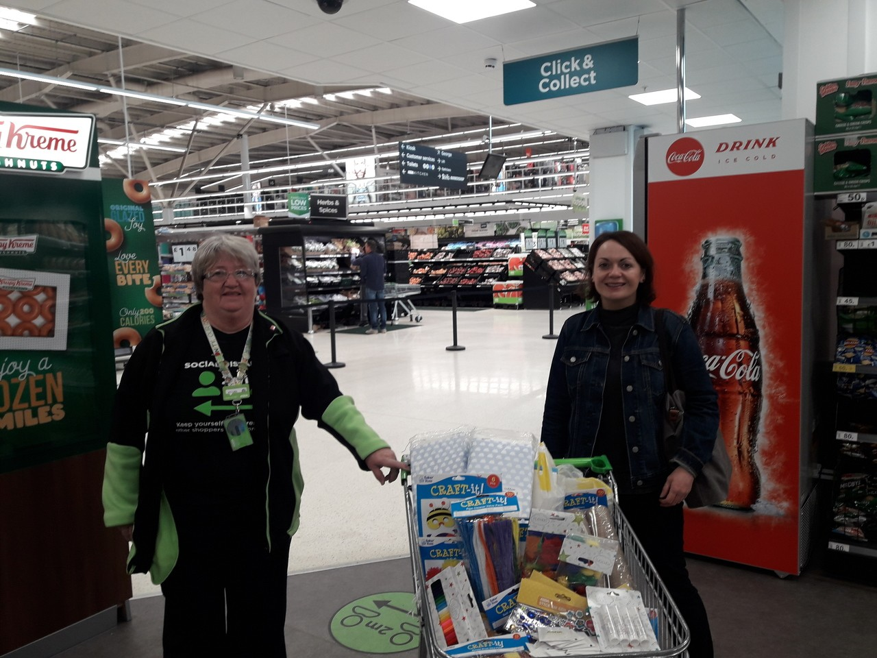 Donation time | Asda Govan