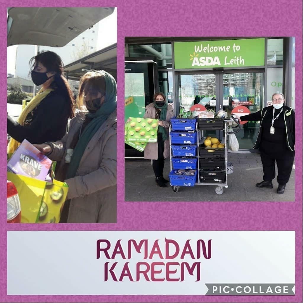 Ramadan donations | Asda Leith