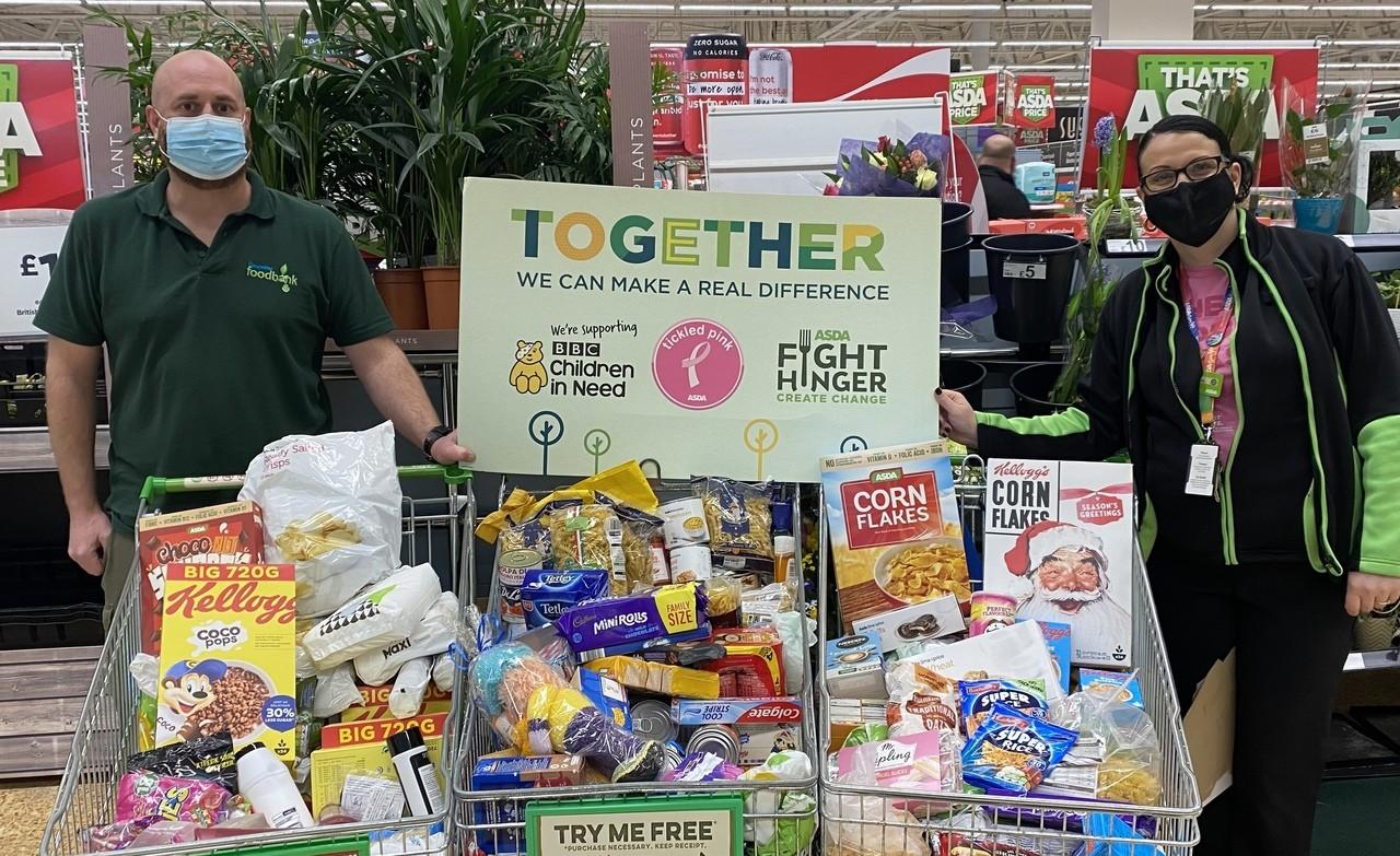 Gloucester food bank collection | Asda Gloucester