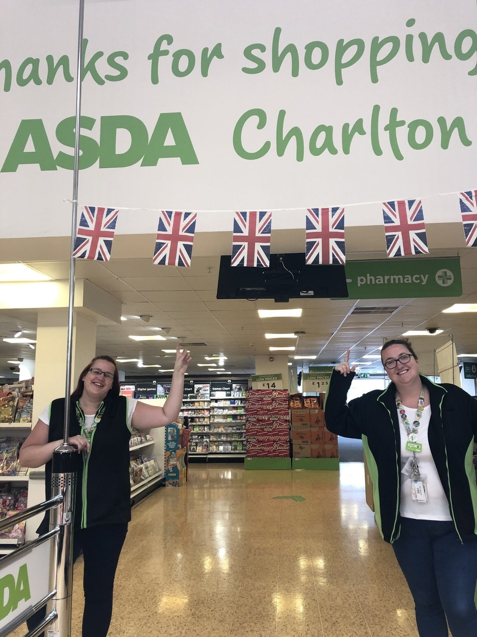 VE Day support | Asda Charlton