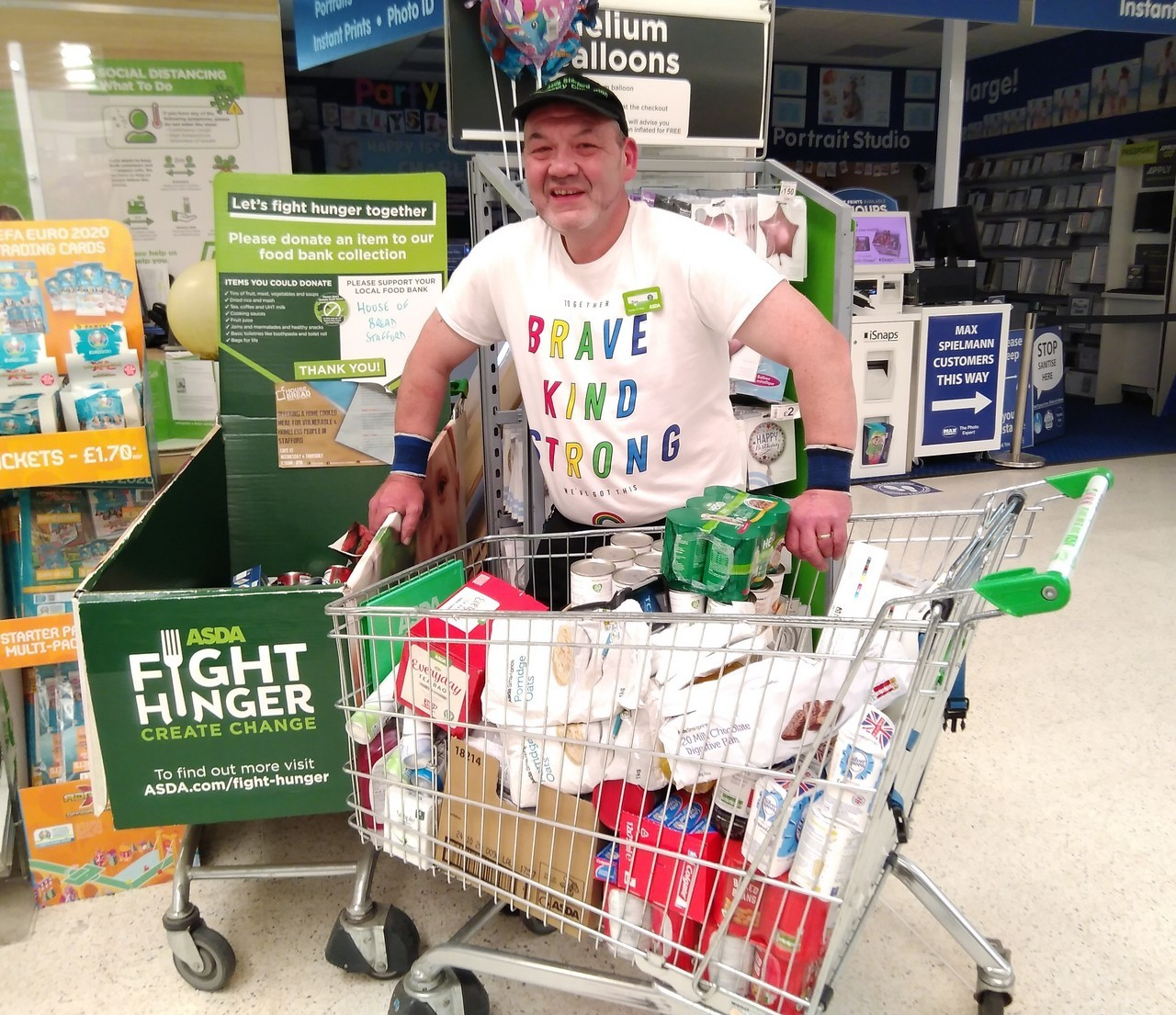 Foodbank help | Asda Stafford