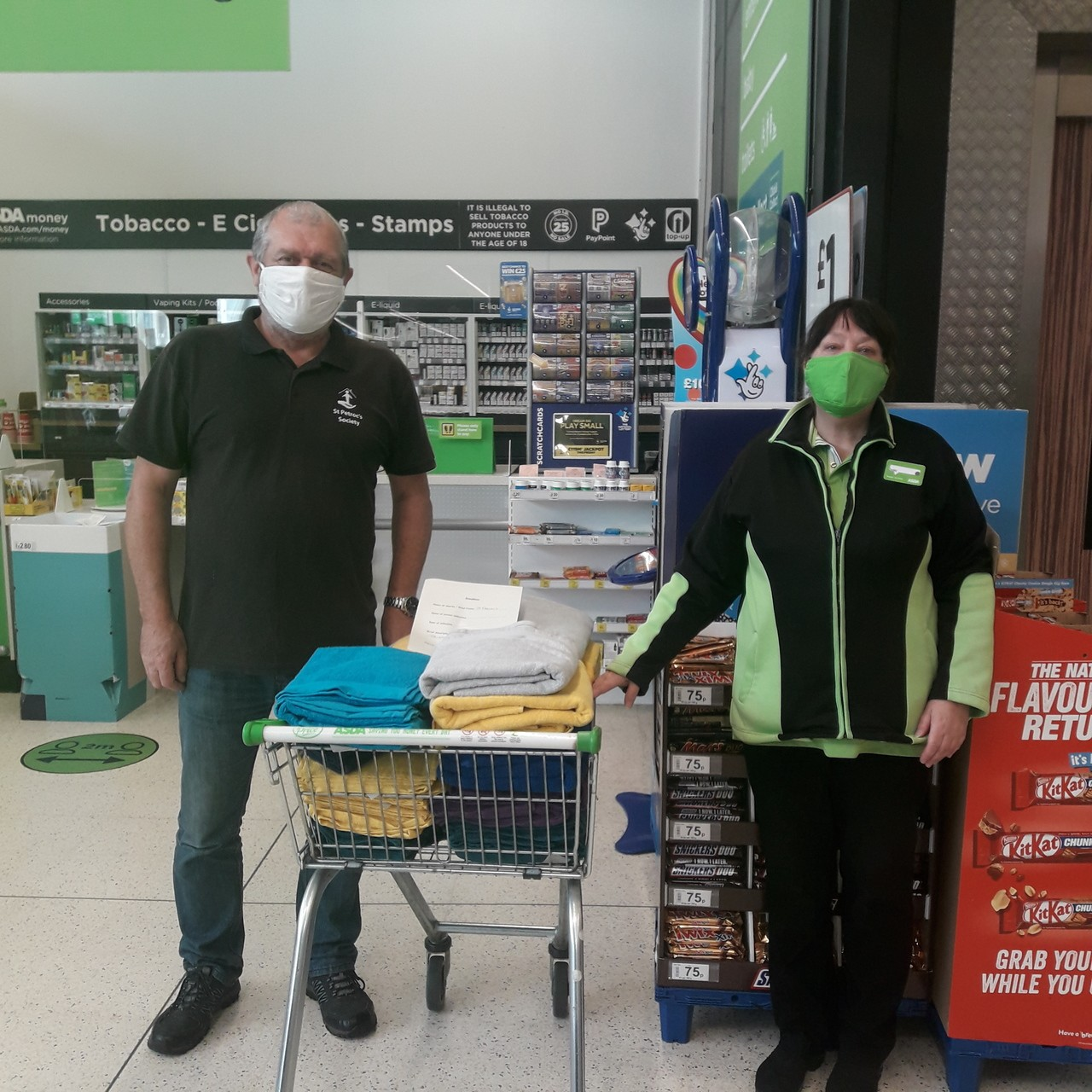 Store donations from Bodmin  | Asda Bodmin