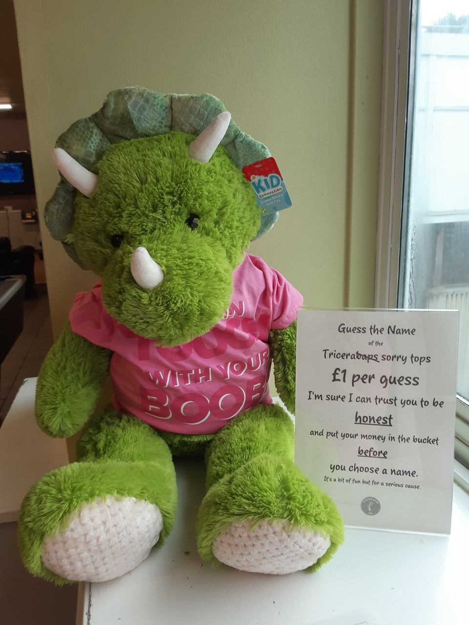 Colleague Tickled Pink Competition | Asda Wolstanton