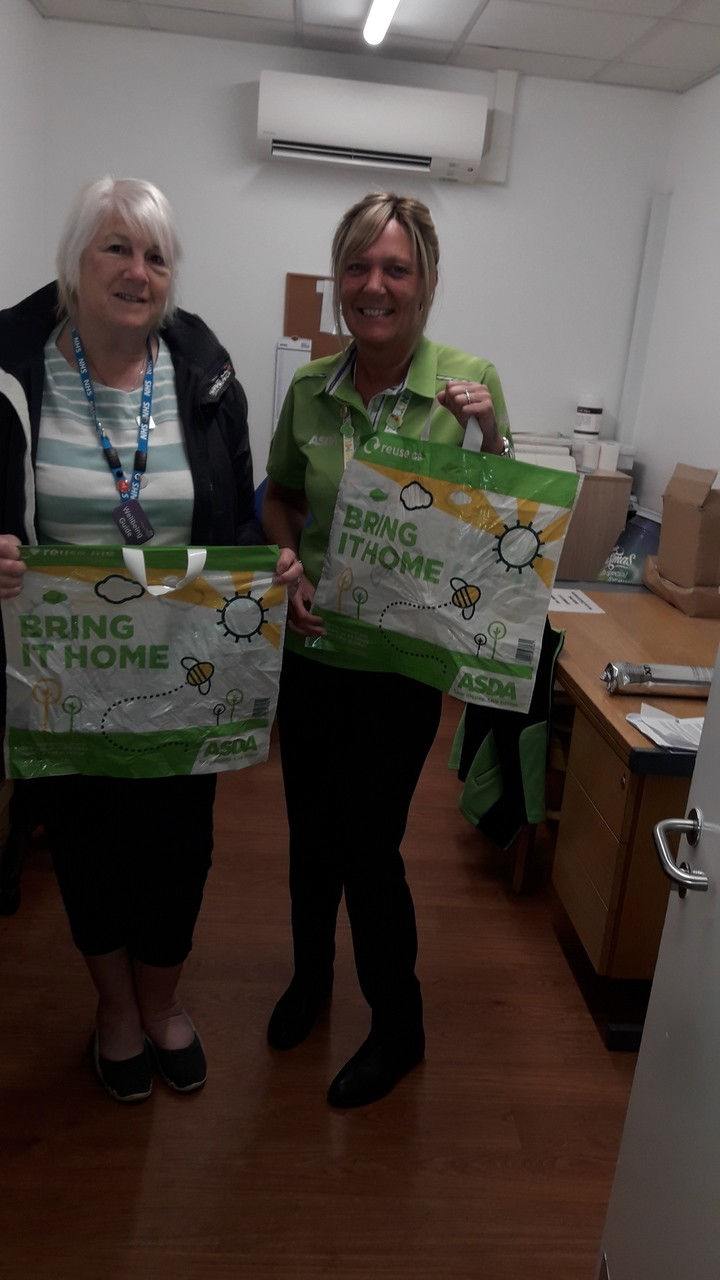 'Bags for life' box | Asda Coventry