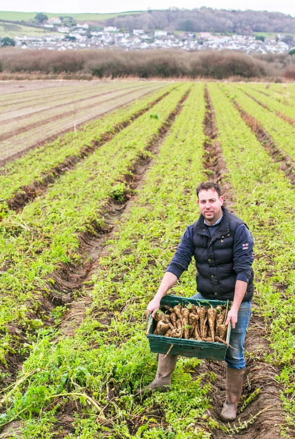 Asda parsnip farmer Richard Clarke