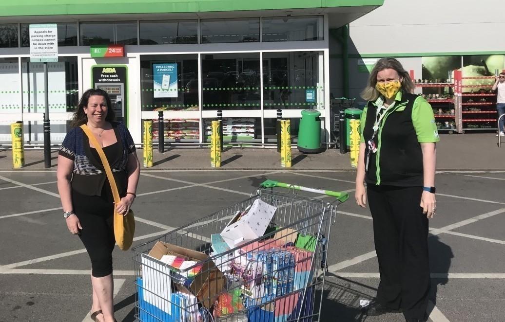 Supporting the communities grant for Little Cherubs | Asda Gillingham