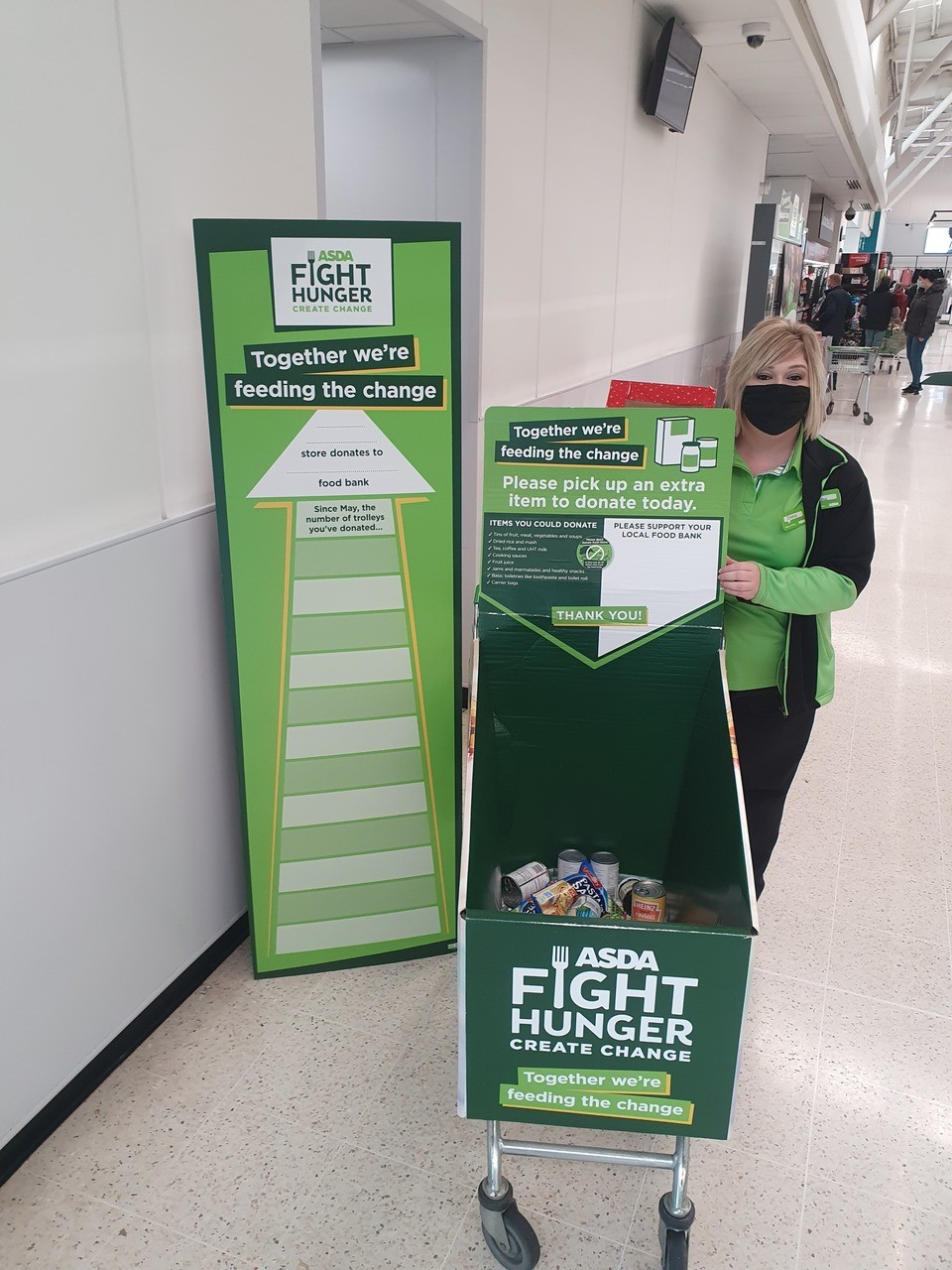 Fight Hunger   Asda Kilmarnock