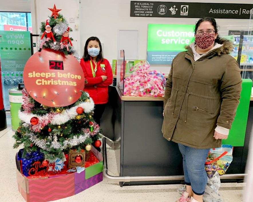Christmas donation | Asda Feltham