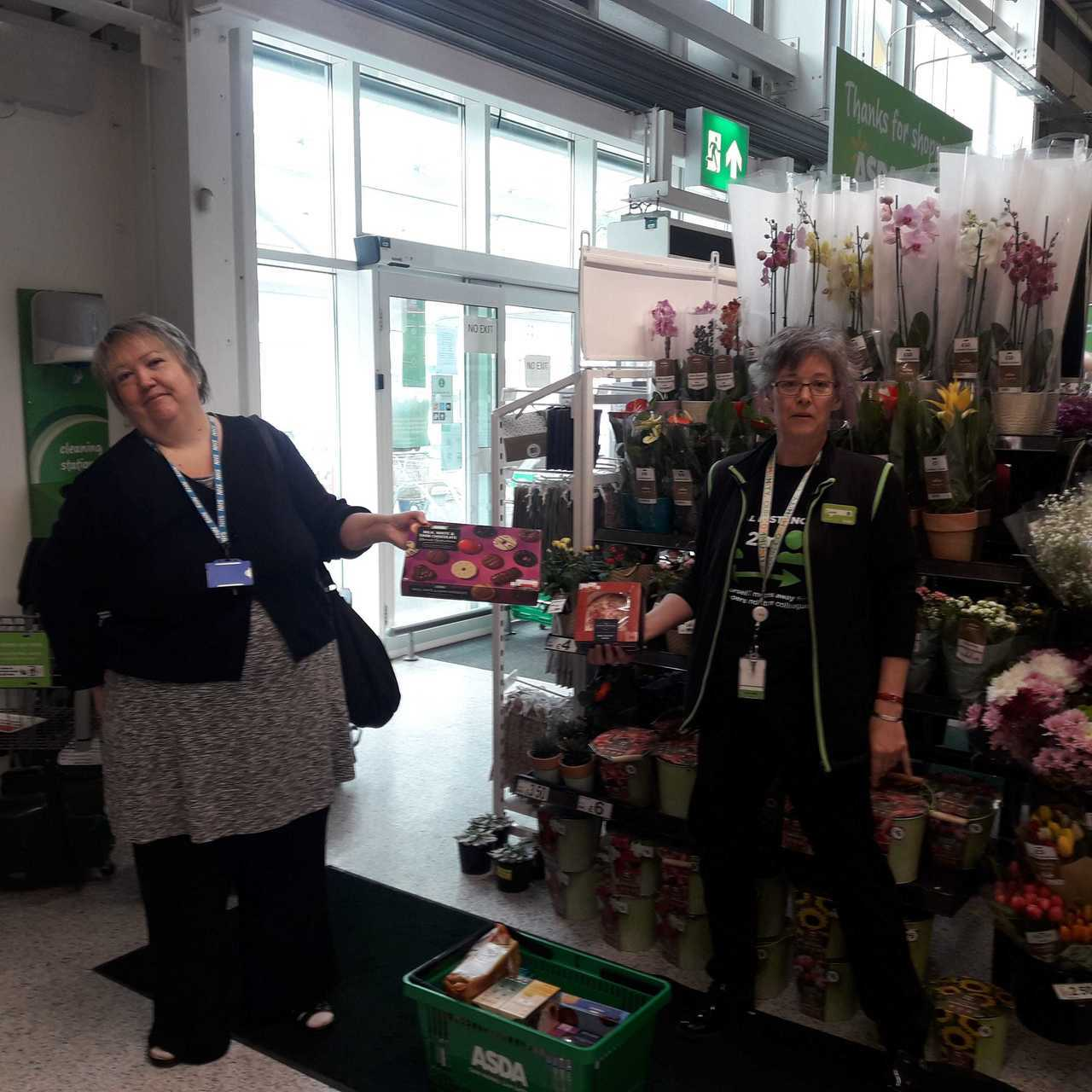 Donation to surgery | Asda Rawtenstall