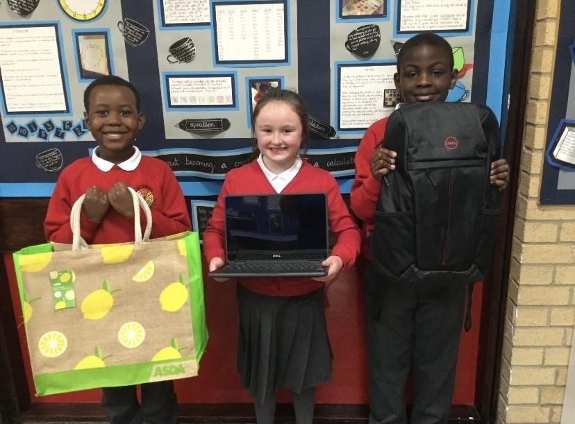 Laptop delivery   Asda Charlton