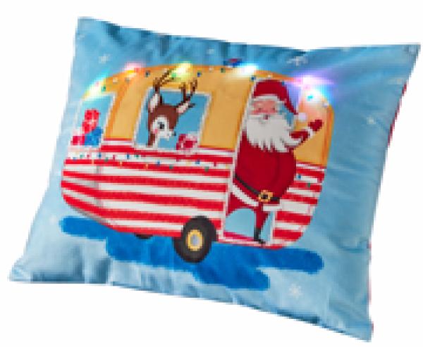 Asda light up Santa cushion