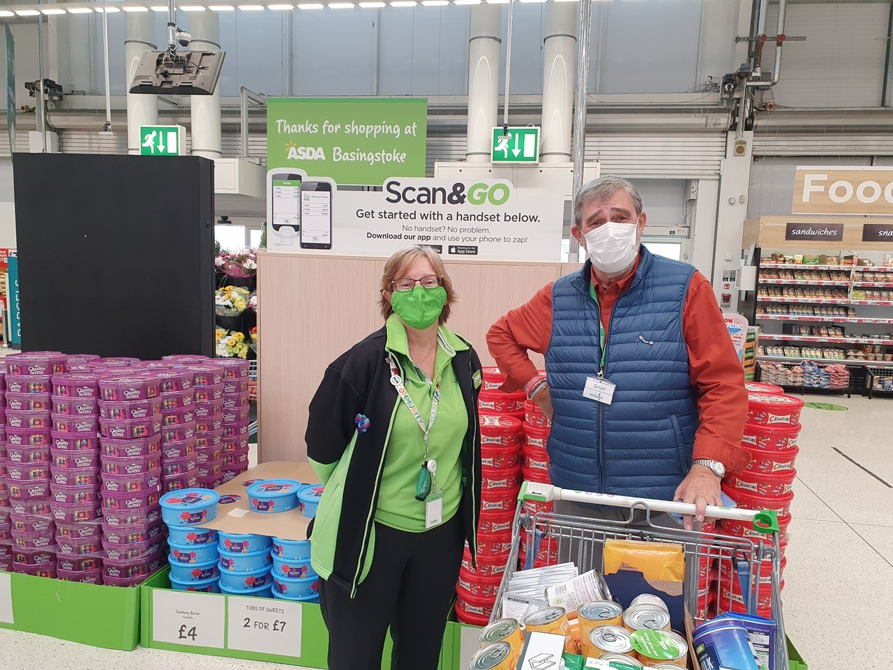 Foodbank donation | Asda Basingstoke