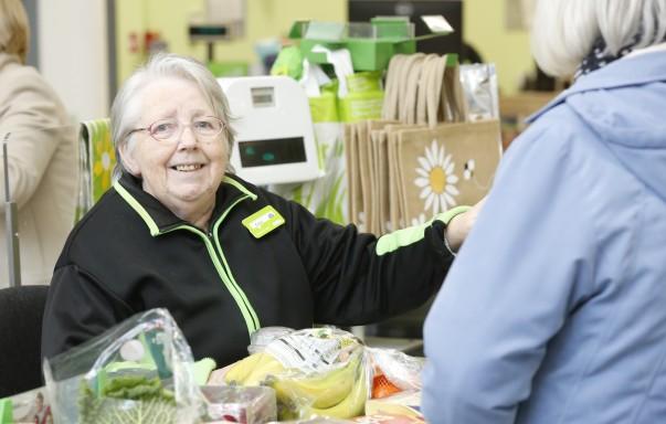 Customer Carol at Watford