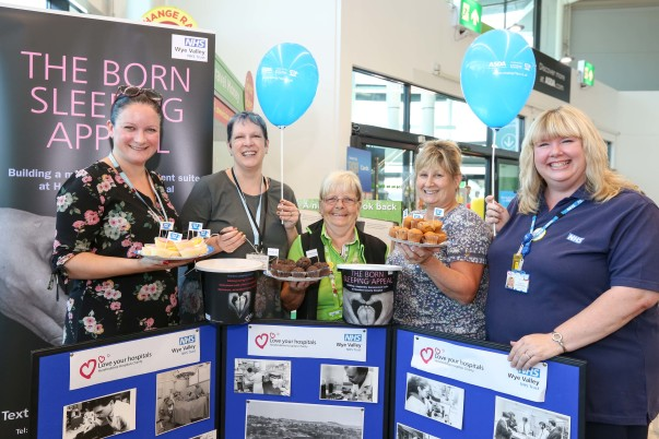 Asda Hereford celebrate the NHS's 70th anniversary