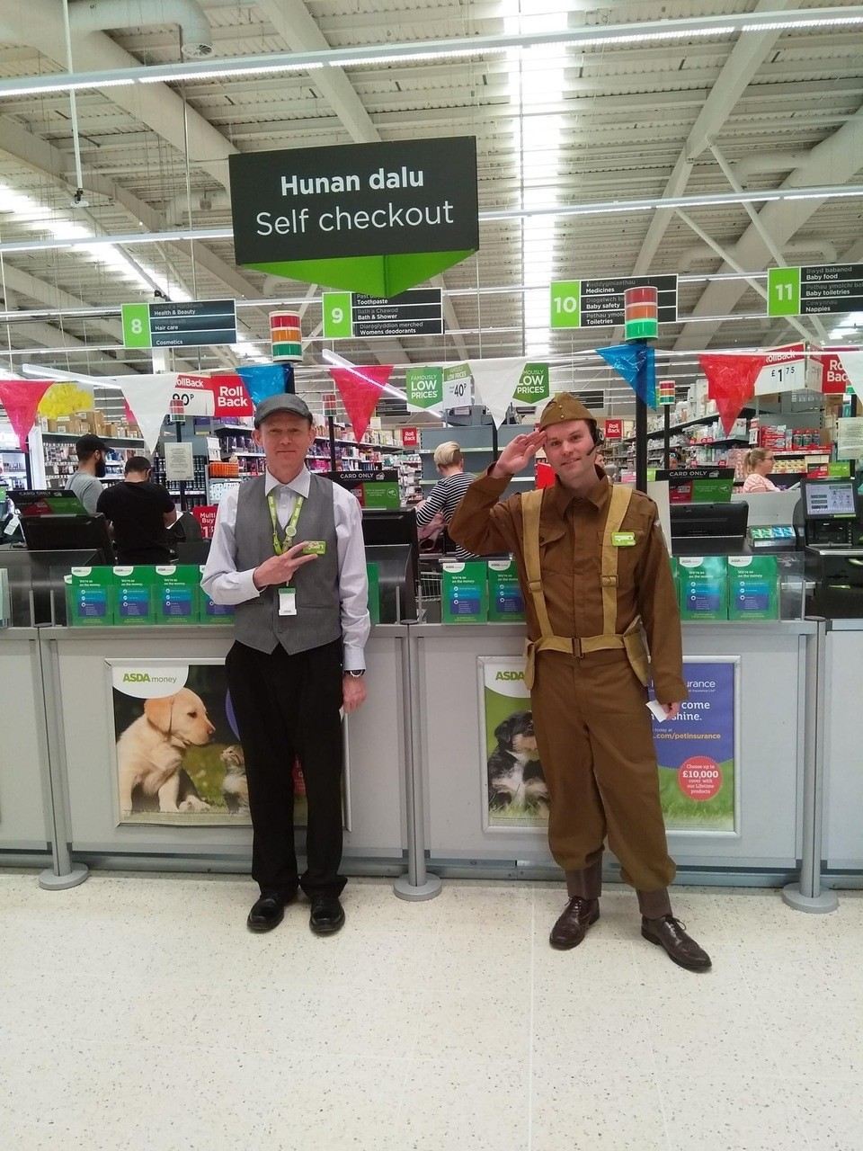 VE Day celebrations | Asda Cardiff Bay