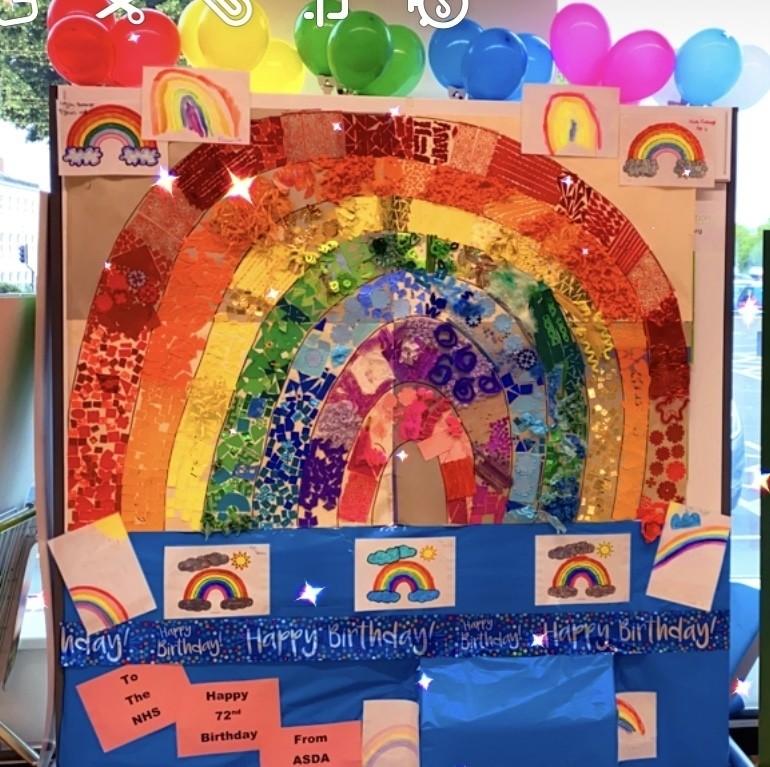 Happy birthday NHS | Asda Gloucester