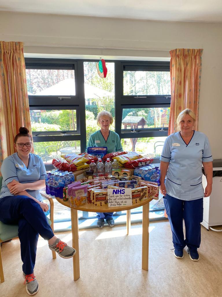 Big thank you to Whitehills staff | Asda Forfar