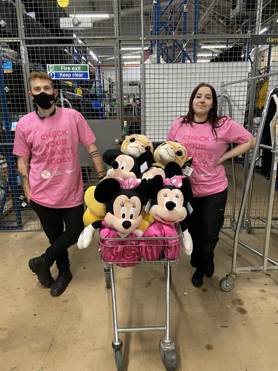 Asda Biggleswade goes pink | Asda Biggleswade