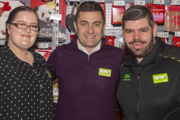 Asda colleagues Heather and Liam who fell in love at work are getting married