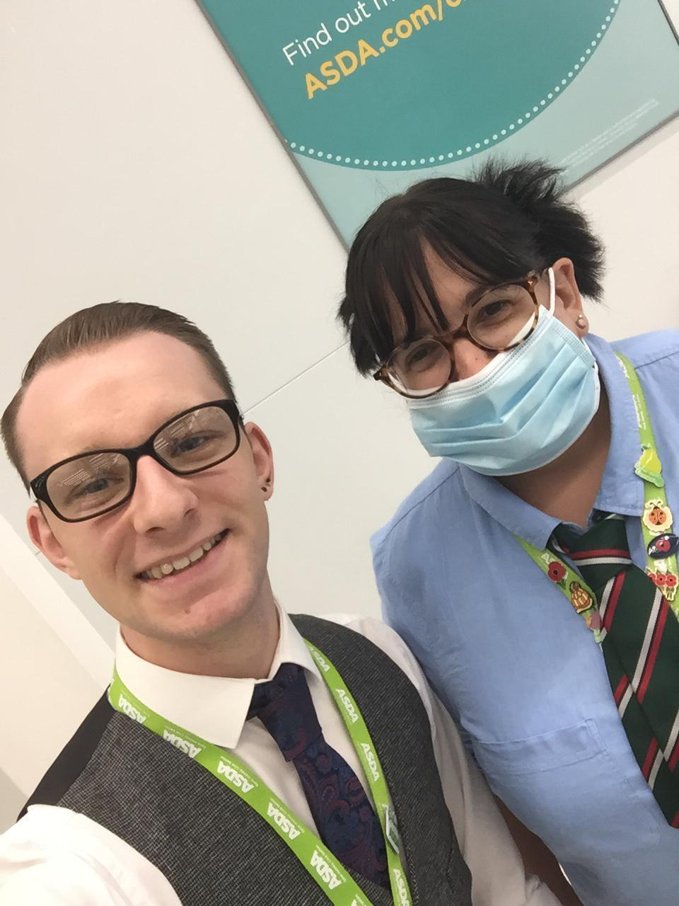 Perfect DayStaff at worcester store joining in on perfect day | Asda Worcester
