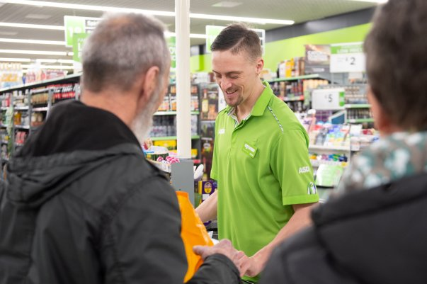 Tom Hines from Asda Eastbourne