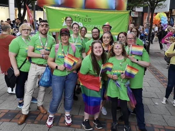 Asda colleagues support Nottingham Pride