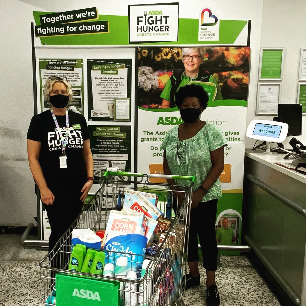Donation toKnowleDGE Learning Centre | Asda Bedminster