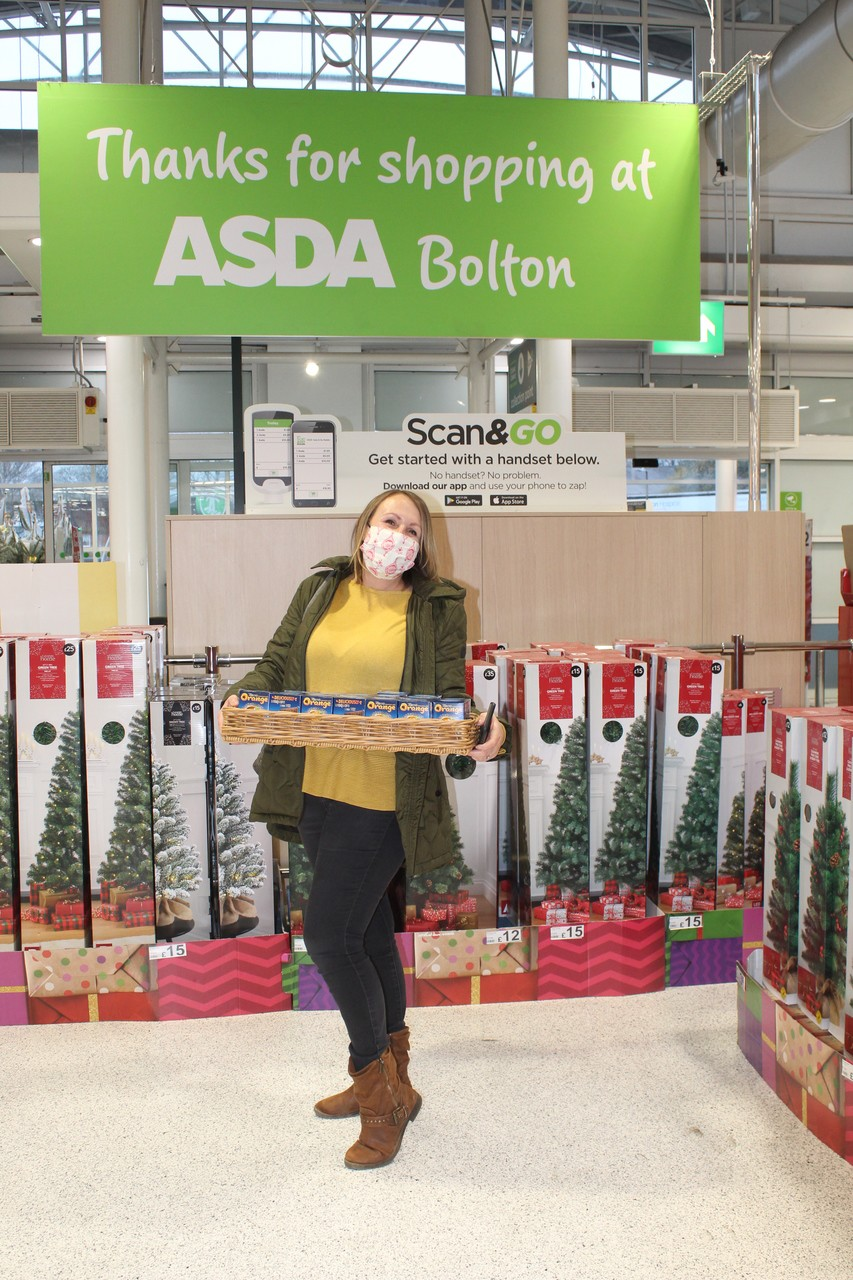 Bolton store donation to 'High Hopes for Halliwell'.  | Asda Bolton