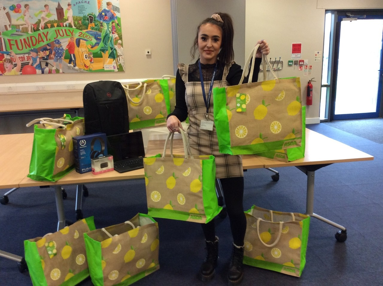 Laptop packages for local school   Asda Hartlepool
