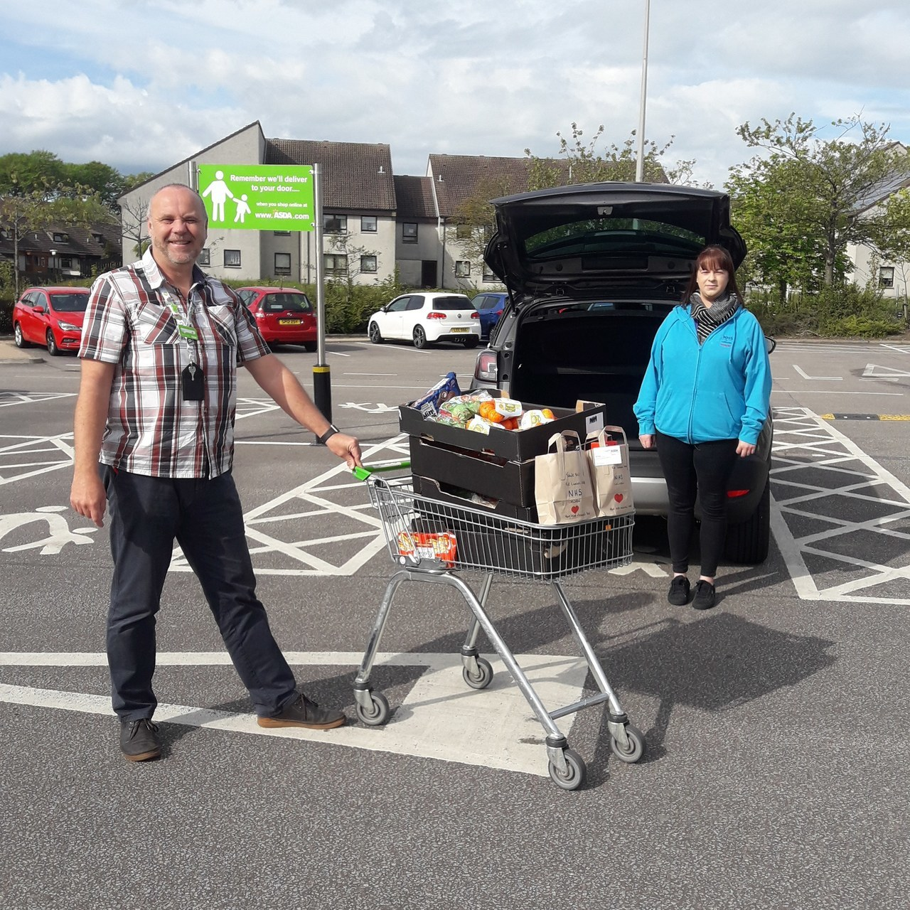 NHS Nursery donation | Asda Middleton Park
