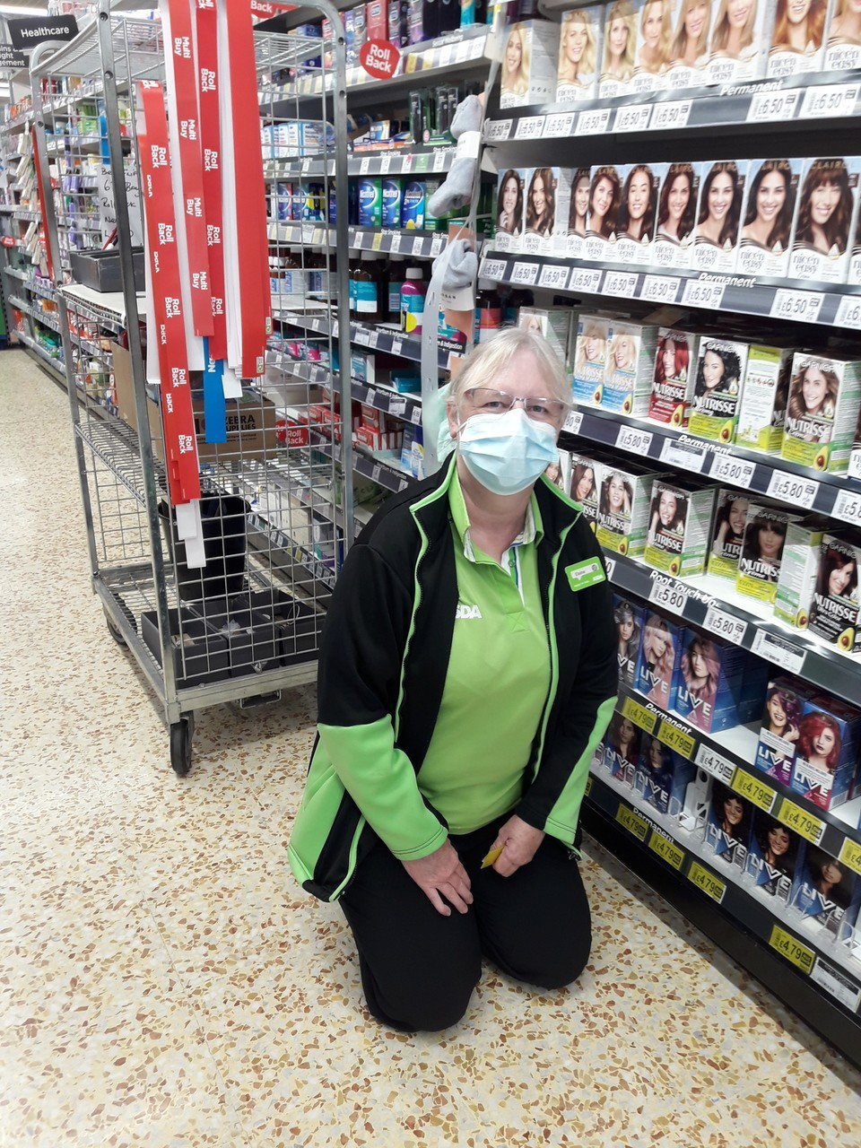 Congratulations Elaine on 29 years' long service at Asda Cramlington | Asda Cramlington