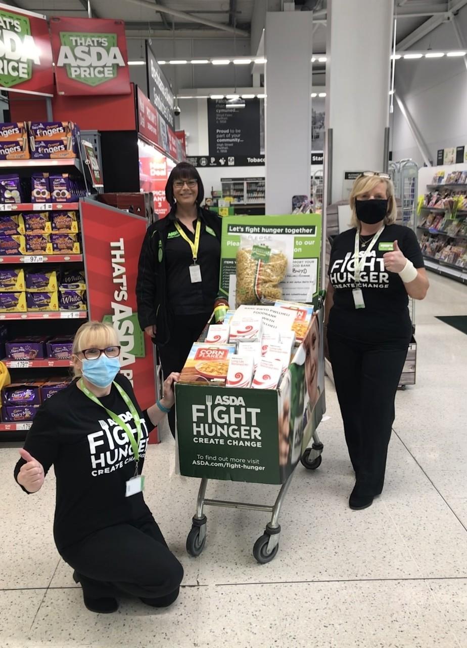 Fight Hunger Create Change | Asda Pwllheli