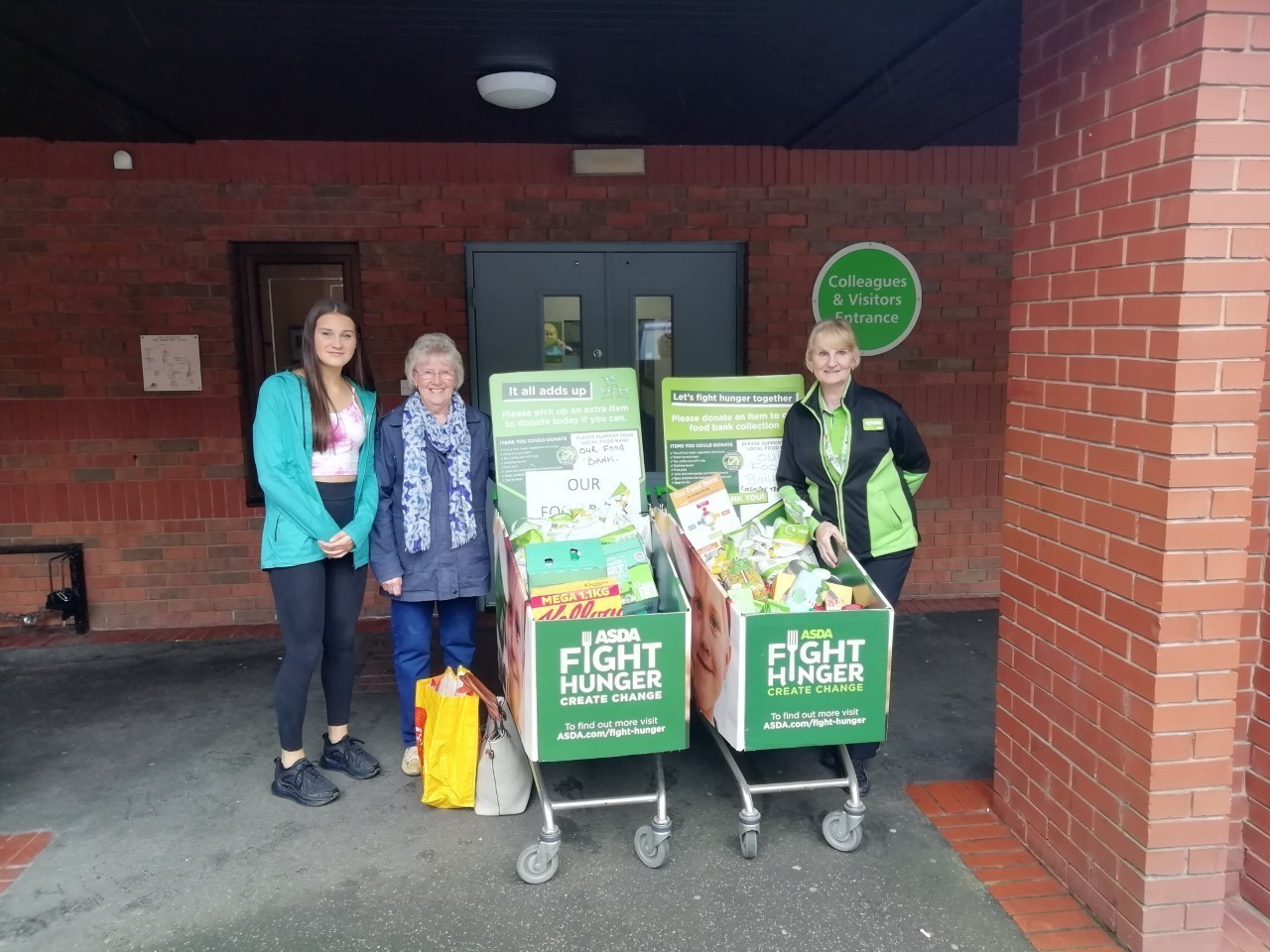 Fighting hunger with Asda's help | Asda Accrington